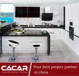 Gabinete de cozinha à moda moderno automático da laca do verniz do Stoving de Hollywood (CA14-11)