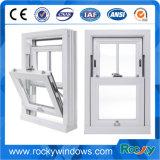 Aluminiumvertikales/herauf unten schiebendes Fenster