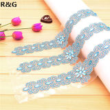 Best Selling Beautiful Luxurious Crystal Shine Rhinestone Beaded Hand Made Wedding Dress Belt