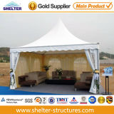 6*6m Coffee Bar Used Aluminium Pagoda Clear Span Tents