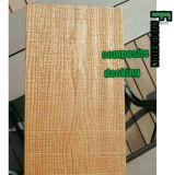 Paquet extérieur composé en plastique en bois du plancher WPC de coextrusion