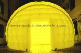 팽창식 천막이 팽창식 돔 천막 이글루 천막, LED를 점화하는 LED를 바꾸는 2015년 광고 색깔에 의하여 점화했다