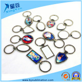 Keyring do metal para costumes do logotipo