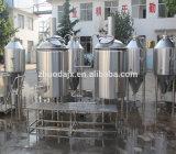 円錐発酵槽が付いているホームによって使用されるマイクロビール醸造装置