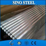 Folha galvanizada Jisg3302 da telhadura do metal de Dx51d