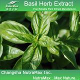 10:1 d'extrait d'herbe de basilic, alcaloïdes de 20%
