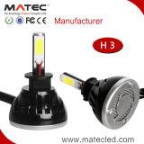 2017 IP68ヘッドライトLED 24V 12V LEDのヘッドライト4000lm 8000lm H1 H3 H4 H7 9005 9006 9007