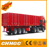 Chhgc 3 Axles Van Type Coal portant semi la remorque