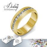 Cristal de la joyería del destino del anillo de vida de lujo de Swarovski