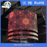 Farbenreiche flexible Innenbildschirmanzeige LED-P7.62