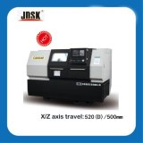 中国の水平の高速精密CNCの回転旋盤機械価格