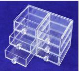 Ясная кристаллический Compartmental коробка для хранения