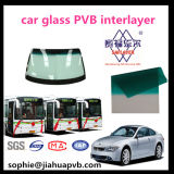 / Verde Banda de rayas azul Automotive 0,76 mm entre capas de PVB para Auto Glass