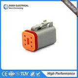Разъем сборки кабеля Deutsch автоматический с уплотнениями и стержнями Dt04-6s