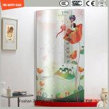 Vetro Tempered del reticolo di sicurezza della stampa del Silkscreen della vernice di Digitahi di immagine del fumetto di alta qualità 3-19mm per l'acquazzone/stanza da bagno/divisorio con SGCC/Ce&CCC&ISO