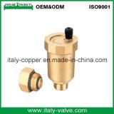Valvola d'ottone personalizzata del cunicolo di ventilazione di qualità (IC-3002)