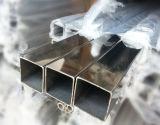 Tubulação do quadrado do aço ASTM-A554 304 316 inoxidável