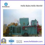 Presse semi-automatique hydraulique horizontale de foin
