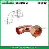Codo del tubo de cobre de 45 grados / ajuste de cobre (AV8006)