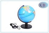 globe Arabe du monde de PVC de 25cm avec l'éclairage LED
