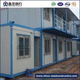 Edificio prefabricado modificado para requisitos particulares del edificio prefabricado del marco de la estructura de acero para el emplazamiento de la obra