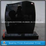 Black of granites Upright Monument Headstones for Memorial