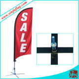 Publicité Teardrop Feather Flag Banner Display Flag Bannière Flag Pole