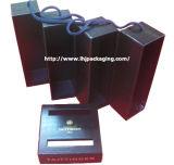 Caixa de papel do vinho do presente do frasco da alta qualidade dois