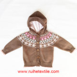 Knitted Long Sleeve Sweater /Fashion Cardigan for Kids