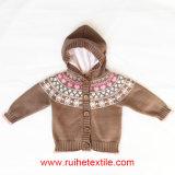 Long lavorato a maglia Sleeve Sweater /Fashion Cardigan per Kids