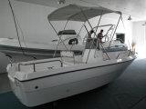 Liya pequeños barcos del Panga del barco de pesca de la fibra de vidrio de los 4.2m a de los 7.6m para la venta