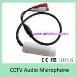 Mini micrófono audio ocultado para CCTV DVR y cámara