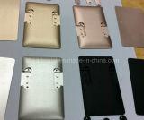 Kundenspezifische Präzision CNC-maschinell bearbeitenteil für Aluminiumshell