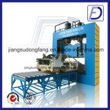 Hydraulischer Guillotine-Abfall-Reifen-Gummipuder-Ausschnitt, der Maschine aufbereitet