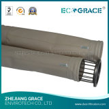 Sacchetto filtro industriale del filtrante P84 della polvere del fumo dei forni