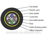 Cavo ottico della fibra di ADSS/tutto il cavo ottico autosufficiente dielettrico