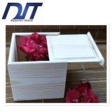 고급 사기그릇 두 배 컵 나무로 되는 선물 상자