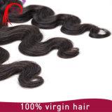 Heißer verkaufenpreis-unverarbeitetes Jungfrau-natürliches Wellen-Haar-unverarbeiteter Großverkauf der fabrik-2016 gutes