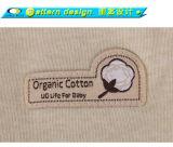 Roupa orgânica do bebê da venda por atacado do Romper do bebê do algodão do menino do verão