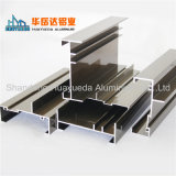 Profils en aluminium d'extrusion de prix bas de constructeur pour le mur rideau en verre