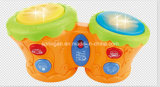 Привлекательные игрушки музыкальной аппаратуры барабанчика детей игрока