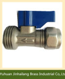 Qualität Forged NPT BSPT Full Port Plumbing Brass Ball Valve Steel Handle und Ball Supplier