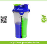 [600مل] بروتين رجّاجة فنجان مع غطاء جديد