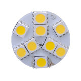 10-30V T1 / Ba9s / G4 LED 9PCS 5050SMD LED Auto Light