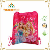 공상과 Adorable Cartoon Frozen, Printed Drawstring Shoes Backpack Bag