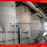 equipo de la refinería de petróleo de soja de la planta del refino de petróleo 5t/D