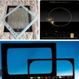 Ausgeglichener Silk-Screen gedrucktes Glas für Haushaltsgeräte