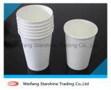 Papel cubierto el PE impreso de la taza para el uso del café