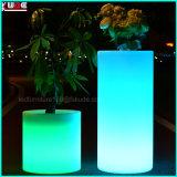 6ft 키 큰 LED 점화 Stantion 공전 또는 색깔 변화