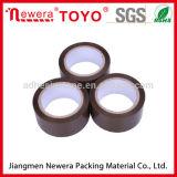 Venta superior OPP Tan y cinta del conducto de la cinta del embalaje de Brown para el lacre del cartón